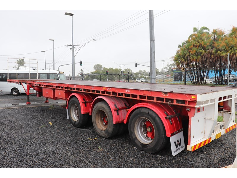 haulmark flat top extendable semi trailer 568096 004