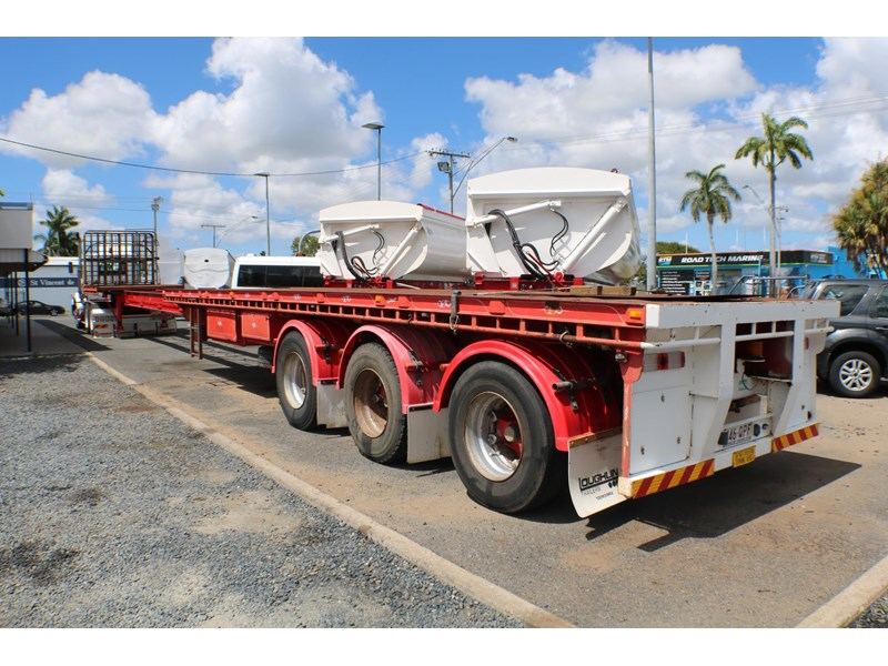 haulmark flat top extendable semi trailer 568096 002