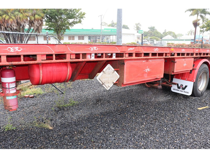 haulmark flat top extendable semi trailer 568096 008