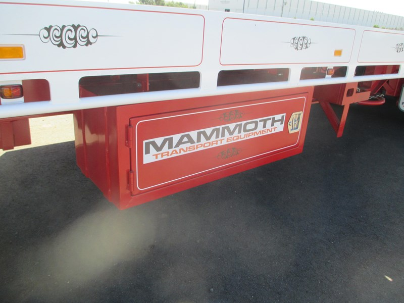"mammoth trailer equipment new 45"" drop deck trailer 577531 023"