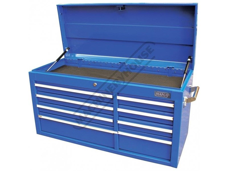 tool chests ich-8d + irc-7d + isl-2d + isc-7d - industrial series tool chest & roller cabinet with side locker & side cabinet package 109016 005