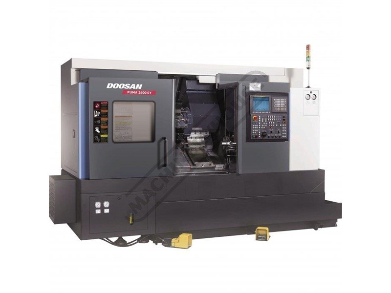 doosan machine tools puma 2600sy 545947 001