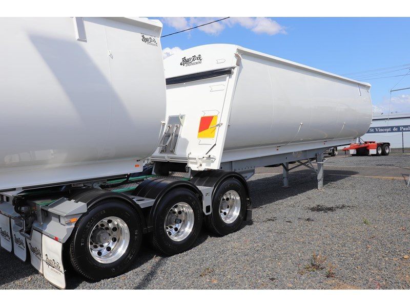 bruce rock engineering b-double slider bulk tippers 555491 007