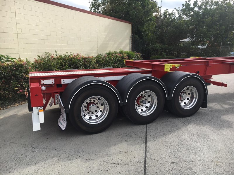 panus retractable skeletal semi trailer 499267 006