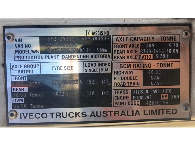 iveco acco 2350g 630809 004