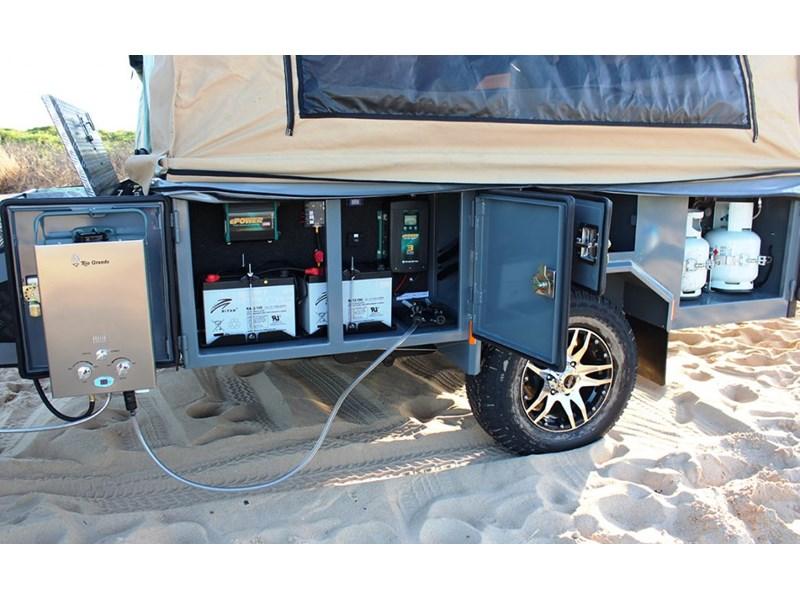 Luxury  TERRAIN CAMPER TRAILERS TOURER FULL OFF ROAD Camper Trailers For Sale