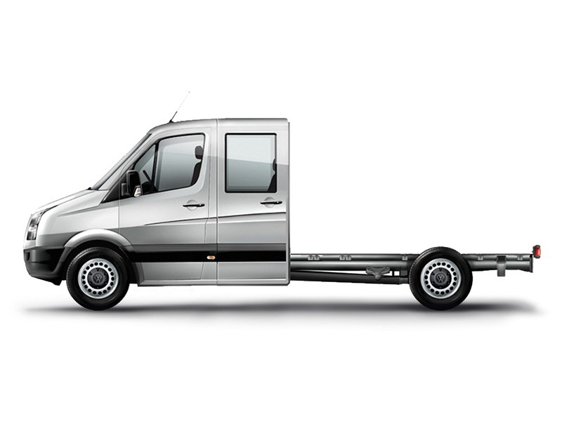 New Volkswagen Crafter 50 Dual Cab Chassis Light