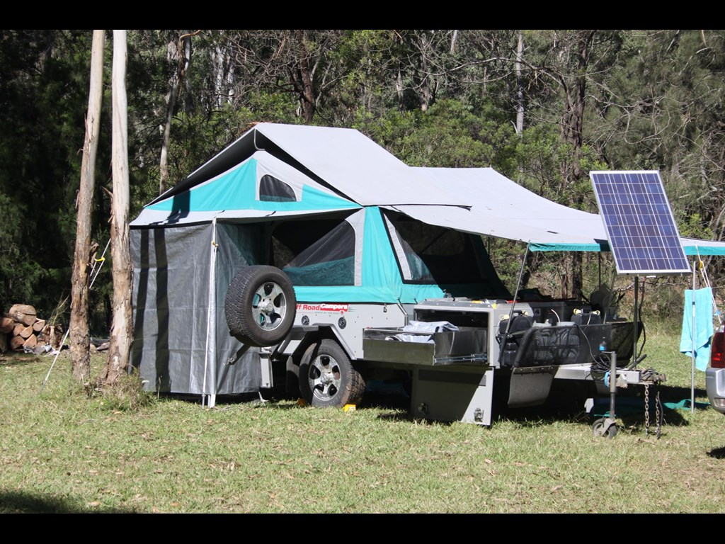 Unique Australia Is A Rugged Place  Offering Massive Toy Haulerscumcampers That Just Scream Offroad Fun! We Looked At Patriots TH610 A Few Years Ago, And Its Even More Impressive In Person The Trailer Includes An X1style Camper Box