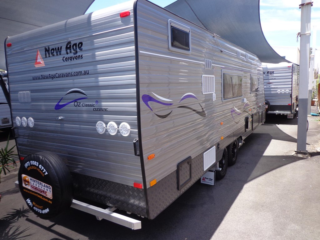 Elegant 2014 NEW AGE OZ CLASSIC 22FT ENSUITE For Sale 84990