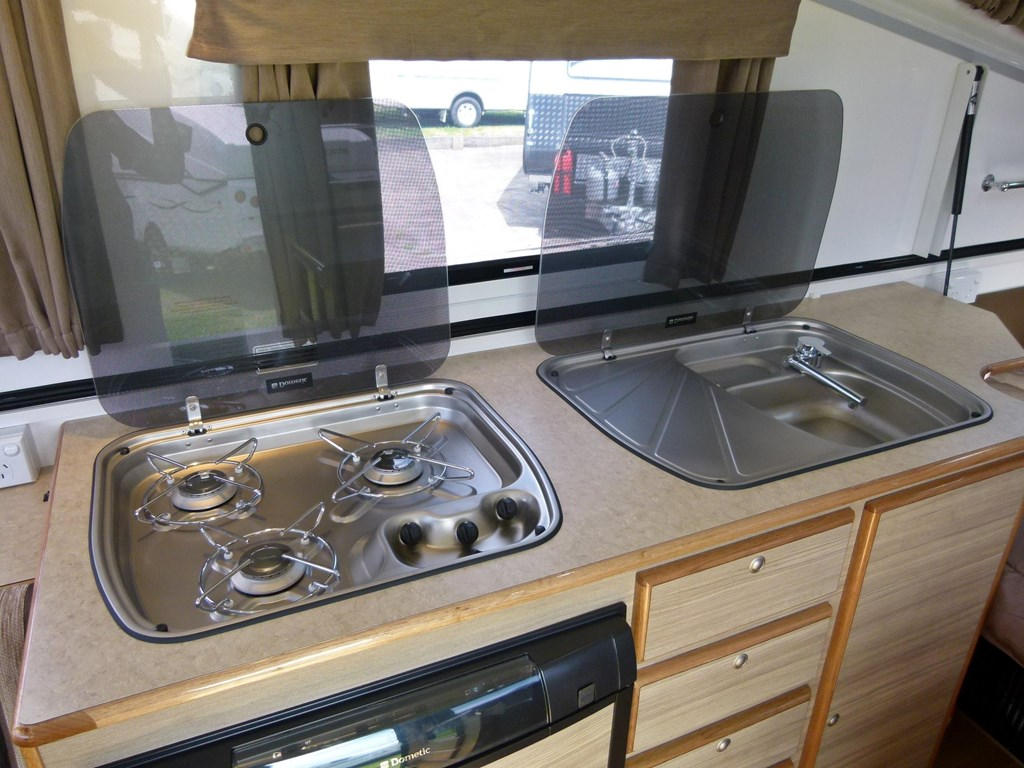 Perfect 2012 16 FOOT CELL SEMI OFF ROAD CARAVAN WITH SHOWER AND TOILET