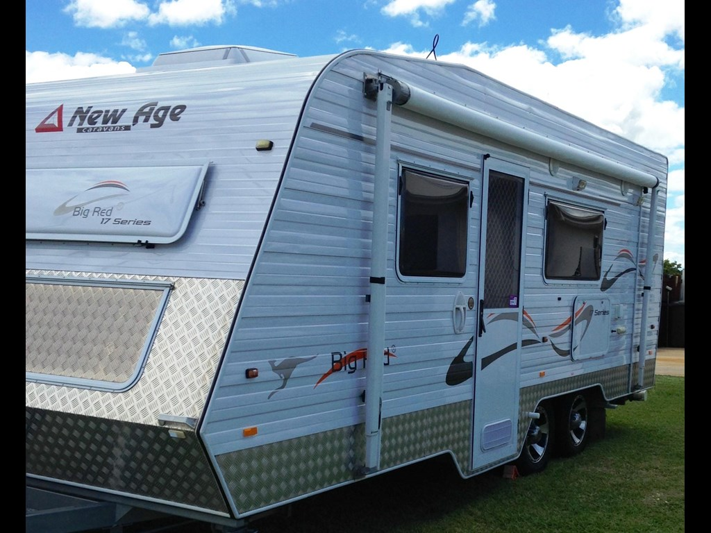 Amazing NEW AGE BR19ES2 BIG RED RV Towing Caravans Specification