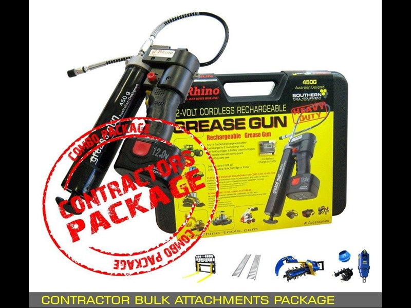 other auger drive unit - contractors bulk attachments package [8 items] [attcombo] 237145 011