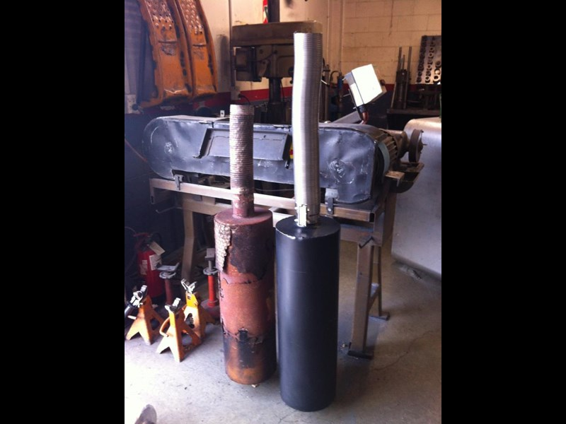 unknown any scissor lift muffler 56479 003
