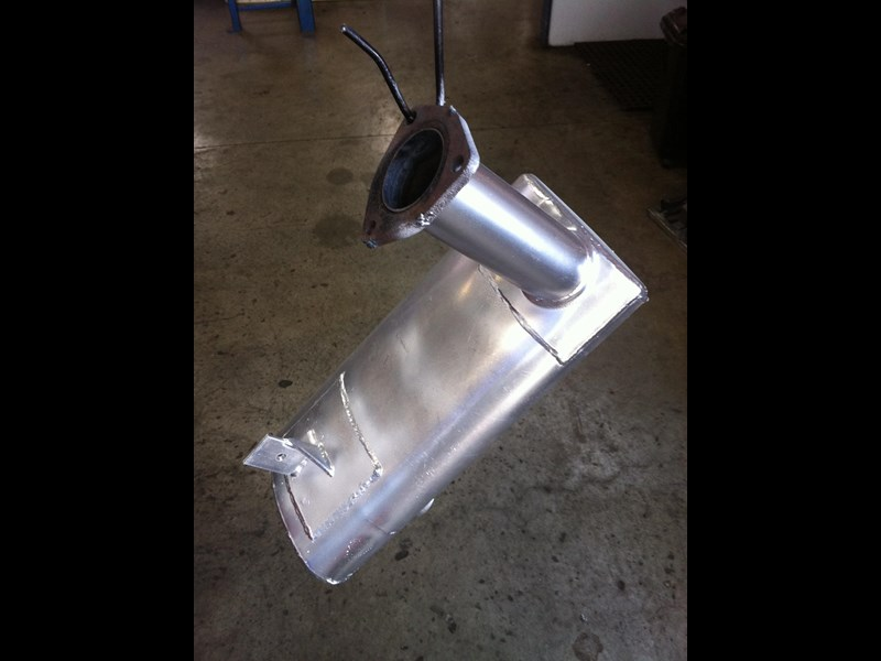 unknown any scissor lift muffler 56479 001