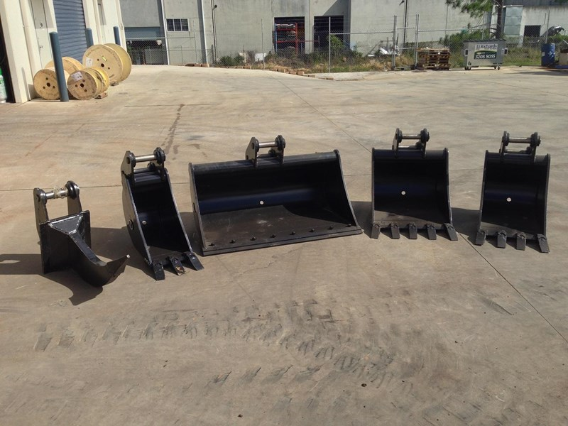 various buckets to suit yanmar vio30/35 178891 001