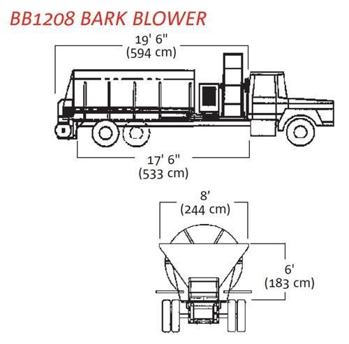 finn bb-1208/1216 bark blower 270071 005