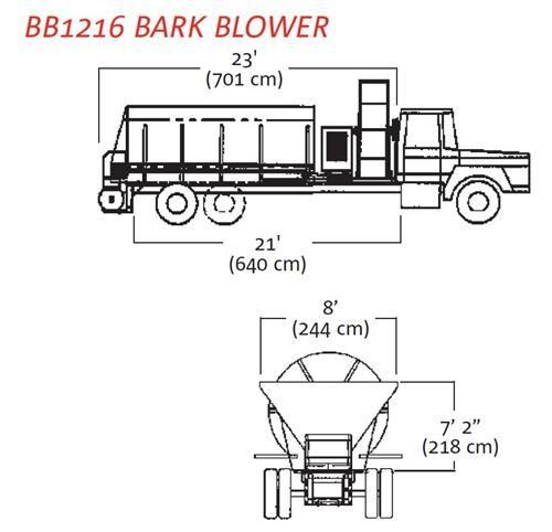 finn bb-1208/1216 bark blower 270071 007