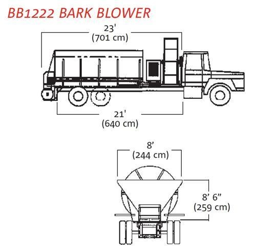 finn bb-1208/1216 bark blower 270071 009