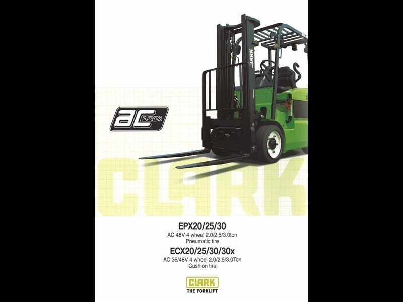 clark epx20 electric forklift 270472 003
