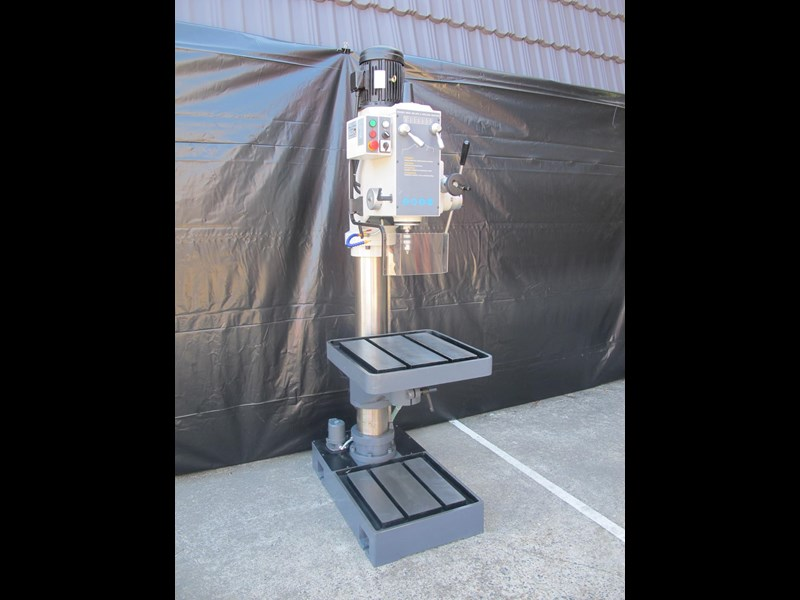 eximus taiwanese geared head pedestal drill, ø 50mm capacity 11692 005