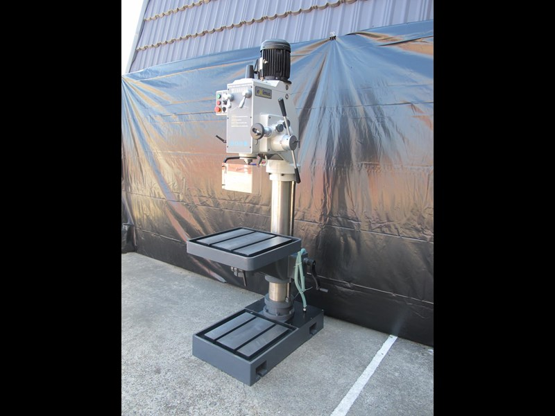 eximus taiwanese geared head pedestal drill, ø 50mm capacity 11692 001