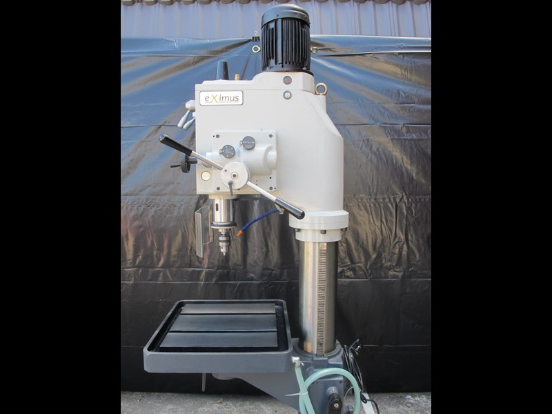 eximus taiwanese geared head pedestal drill, ø 50mm capacity 11692 017