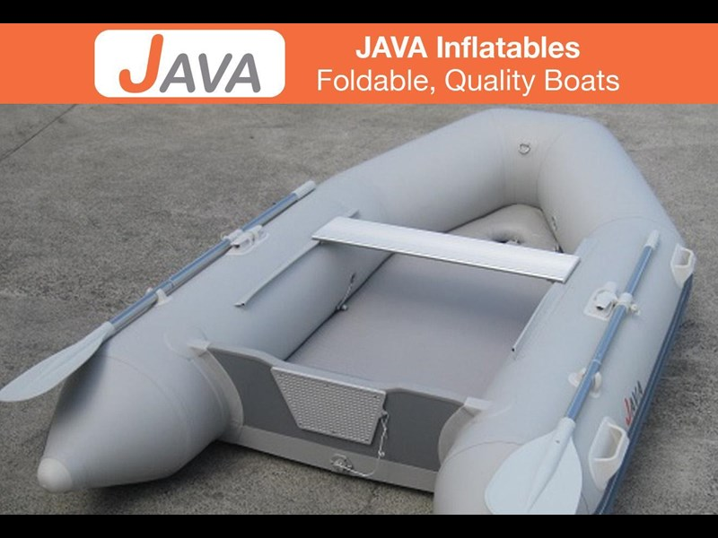 java 2.5m air floor inflatable 295466 011