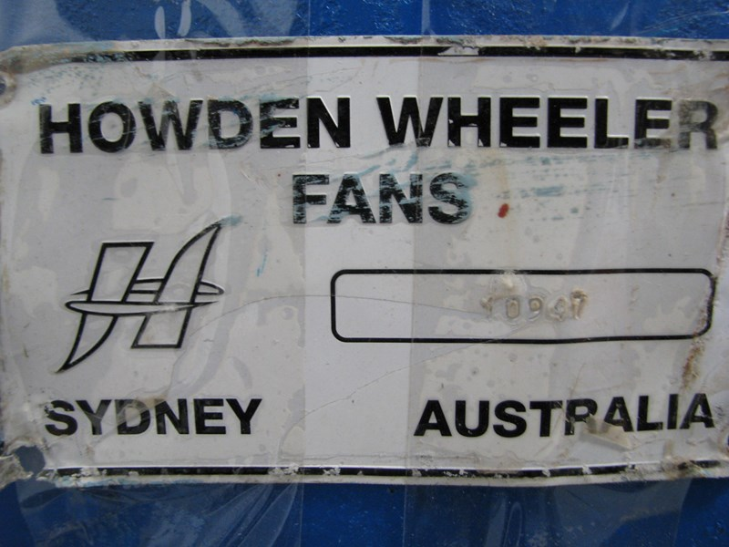 howden industrial factory extraction blower fan 302106 007