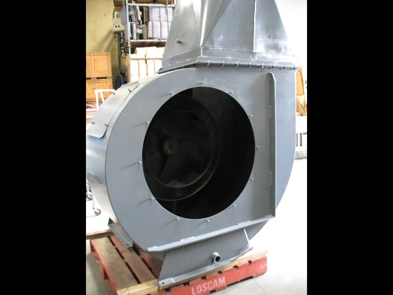 howden large industrial extraction blower fan 302557 007