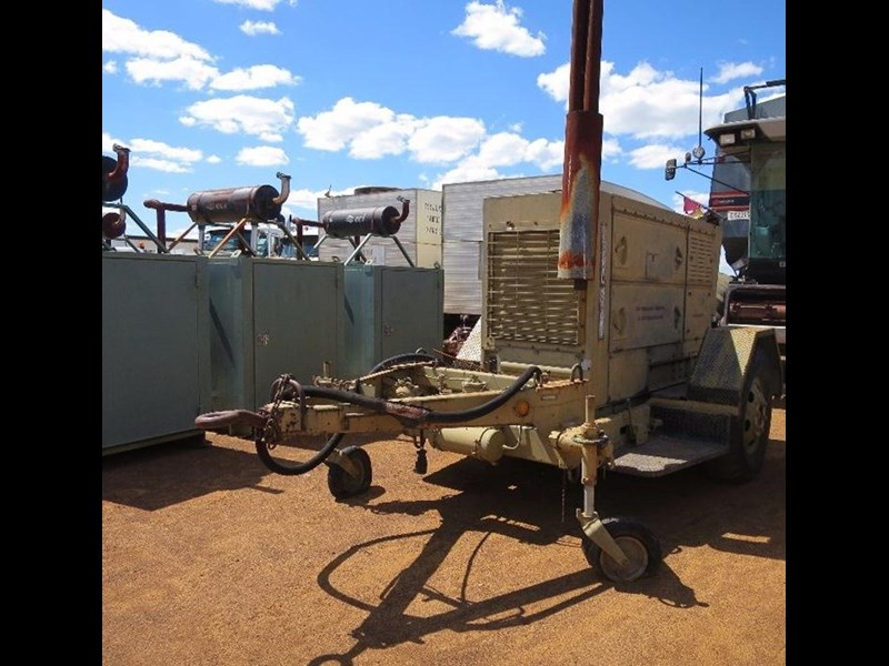 unknown trailer mounted generator 320436 019