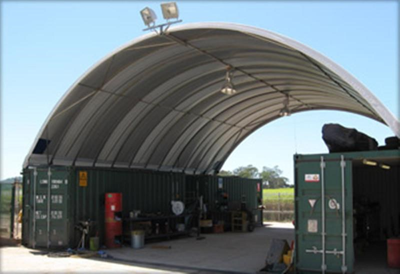 nq trading 40ft igloo container shelter c2040s 343203 007