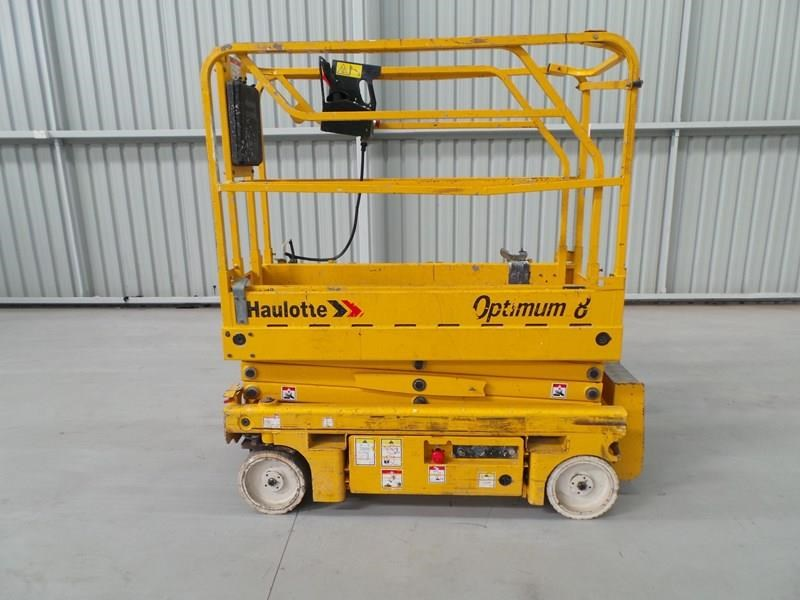 haulotte optimum 8 narrow scissor lift 326983 003