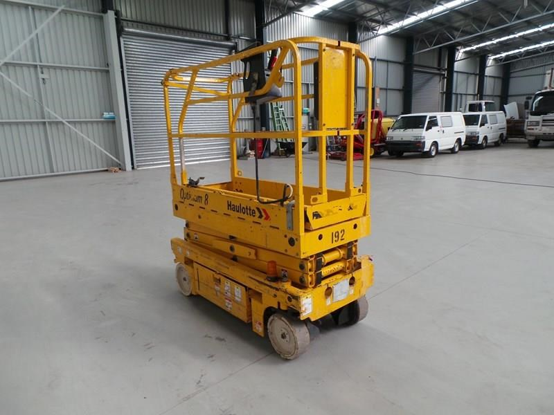 haulotte optimum 8 narrow scissor lift 326983 011
