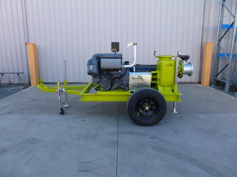 "remko rs200 8"" irrigation pump -trailer mounted 408301 003"
