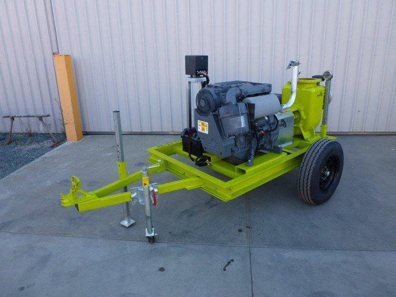"remko rs200 8"" irrigation pump -trailer mounted 408301 009"