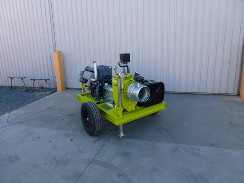 "remko rs200 8"" irrigation pump -trailer mounted 408301 019"