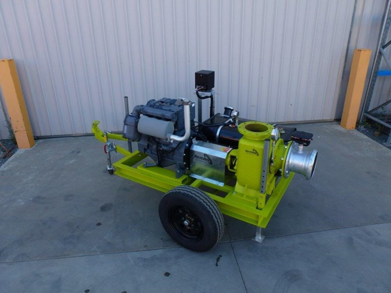 "remko rs200 8"" irrigation pump -trailer mounted 408301 023"