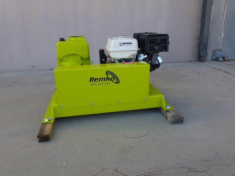 "remko rs-100 4"" petrol driven self priming pump 408320 005"