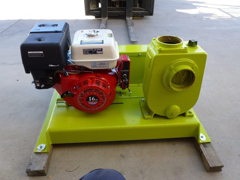 "remko rs-100 4"" petrol driven self priming pump 408320 009"
