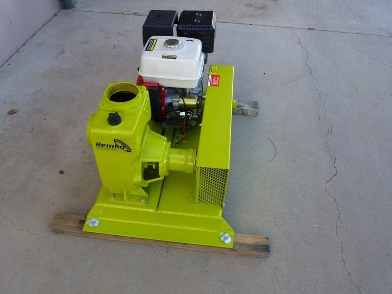 "remko rs-100 4"" petrol driven self priming pump 408320 011"