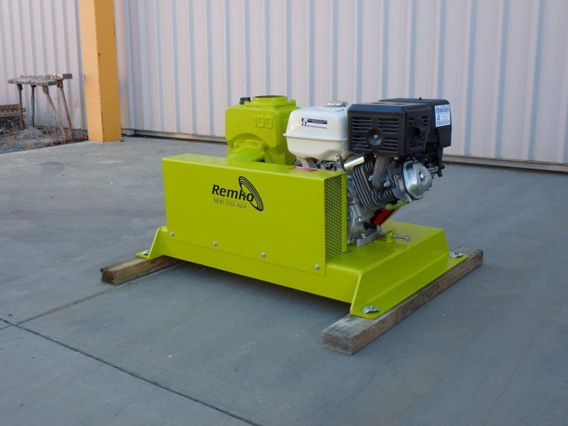 "remko rs-100 4"" petrol driven self priming pump 408320 017"