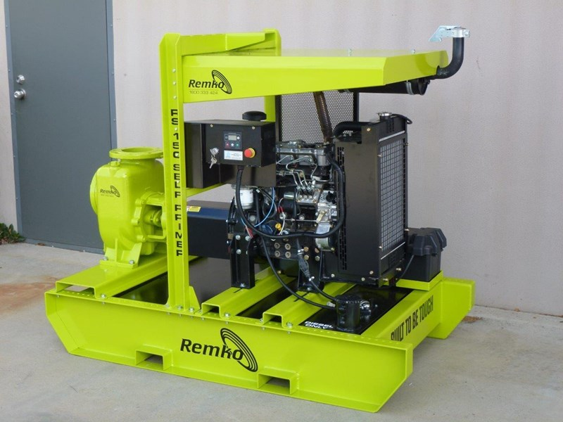 "remko rs-150 6"" self priming contractors pump package 408334 009"