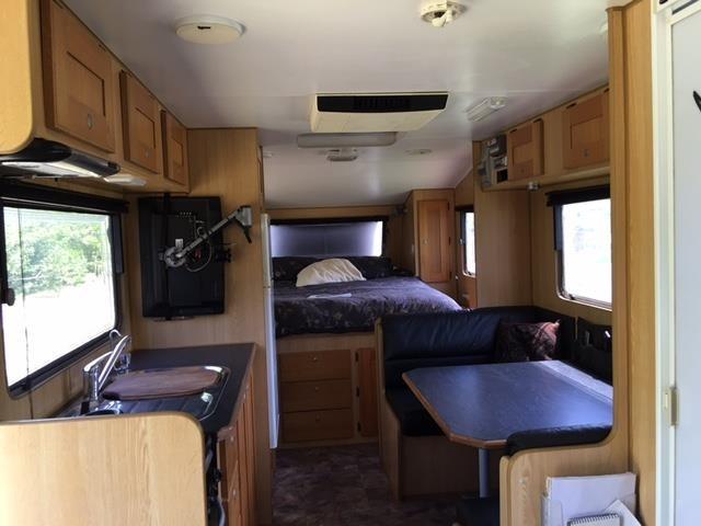 Fantastic 2010 Bushtracker 21 Ft Off Road Family Van  Quicksalescomau Item