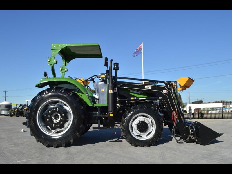 agrison 80hp cdf 4x4 4in1 bucket - 5 year warranty, free 6 ft slasher 424777 007