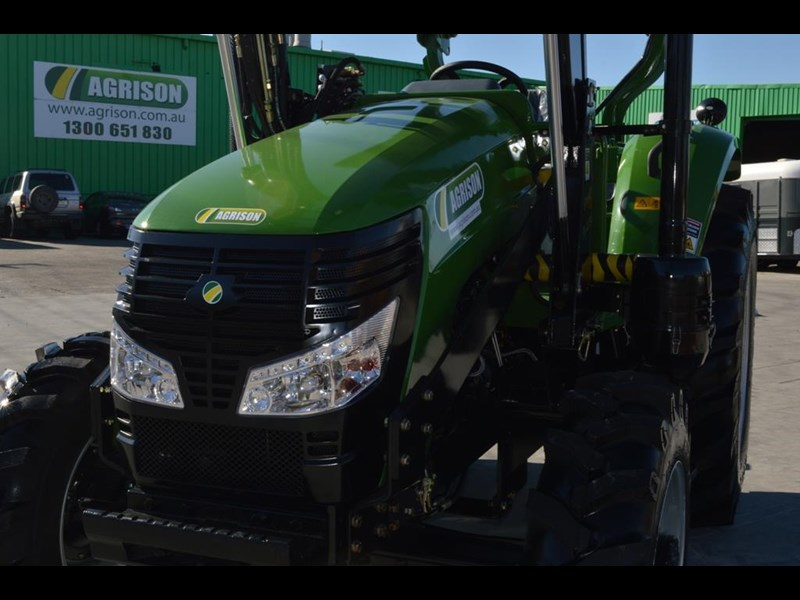 agrison 80hp cdf 4x4 4in1 bucket - 5 year warranty, free 6 ft slasher 424777 033