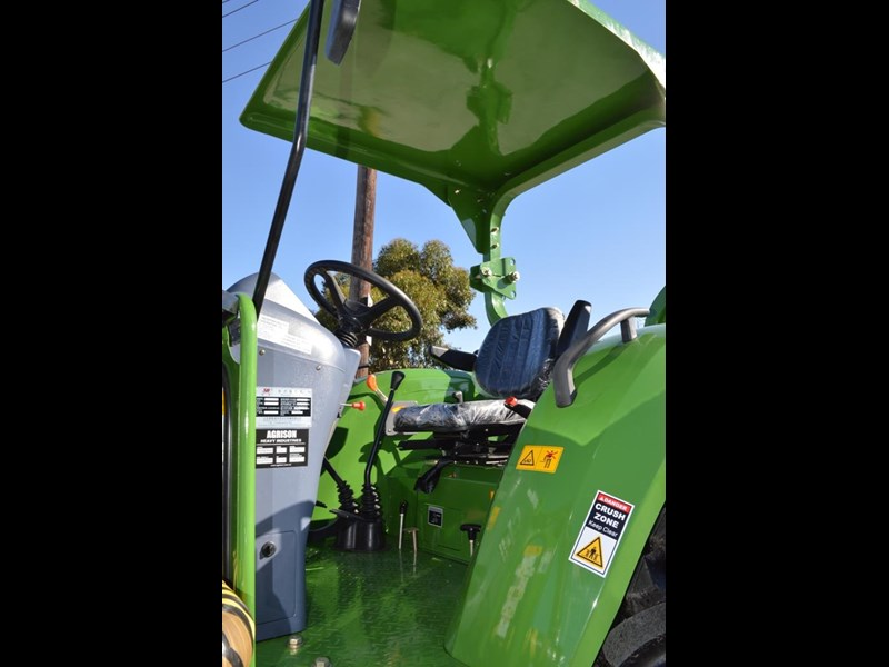 agrison 80hp cdf 4x4 4in1 bucket - 5 year warranty, free 6 ft slasher 424777 057