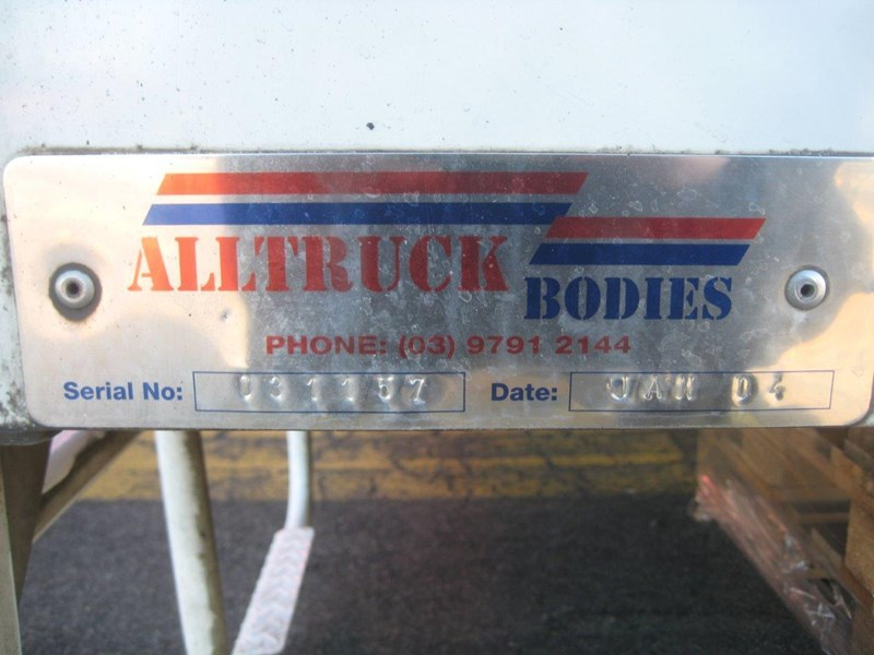 all truck 12 pallet curtainsider body 406731 055