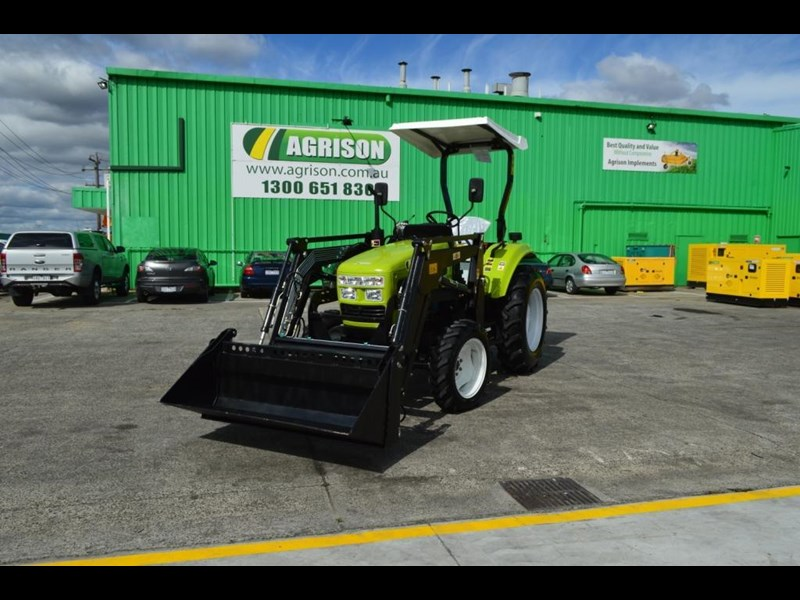 agrison 55hp ultra g3 + rops + 6ft slasher + front end loader (fel) + 4in1 bucket 429473 001
