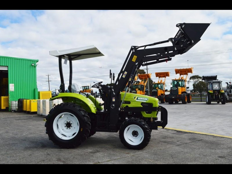 agrison 55hp ultra g3 + rops + 6ft slasher + front end loader (fel) + 4in1 bucket 429473 013