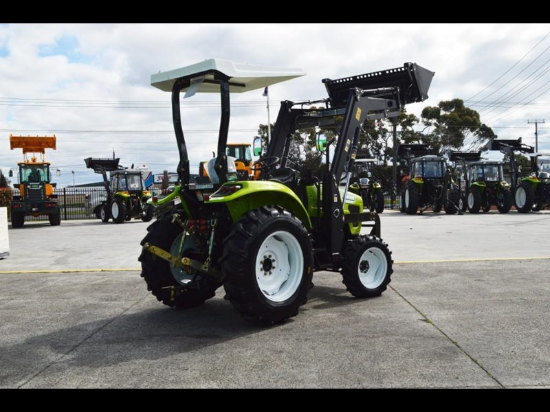 agrison 55hp ultra g3 + rops + 6ft slasher + front end loader (fel) + 4in1 bucket 429473 017